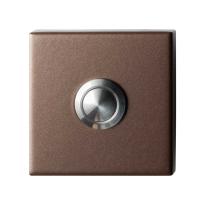 GPF9827.A2.1102 deurbel vierkant 50x50x8 mm Bronze blend