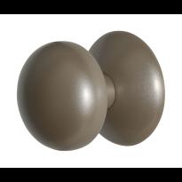 GPF9829.A3 Paddenstoel voordeurknop Mocca blend 65 mm