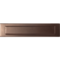 GPF9830.A2 briefplaat Bronze blend 340x77 mm