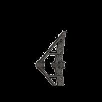 Landelijke huisnummer toevoeging letter 'A', 50 mm