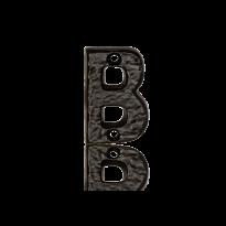 Landelijke huisnummer toevoeging letter 'B', 50 mm