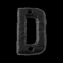 Landelijke huisnummer toevoeging letter 'D', 50 mm