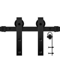 GPF0500.61 schuifdeursysteem Lanka zwart