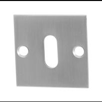 GPF0901.08 sleutelrozet 50x50x2mm RVS geborsteld