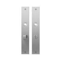 GPF1100.27 plaatschild rechthoekig WC63/8 normale knop RVS geborsteld