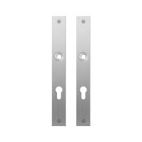 GPF1100.28 plaatschild rechthoekig PC72 RVS geborsteld