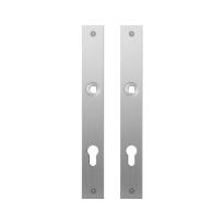 GPF1100.28 plaatschild rechthoekig PC85 RVS geborsteld
