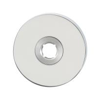 GPF1100.40L/R rozet 50x8mm RVS gepolijst links-/rechtsdraaiend