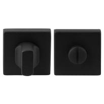 GPF8910.02 toiletgarnituur 50x50x8mm stift 8mm zwart