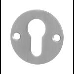 GPF0902.06 cilinderrozet 50x2mm RVS geborsteld
