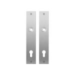 GPF1100.26 plaatschild rechthoekig PC92 RVS geborsteld