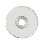 GPF1100.45L rozet 50x6mm RVS gepolijst linksdraaiend