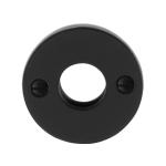 GPF6100.00 rozet 53x5mm smeedijzer zwart
