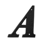 Landelijke huisnummer letter 'A', 152 mm