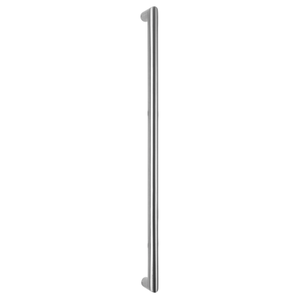 GPF19 deurgreep recht 32x432mm RVS geborsteld
