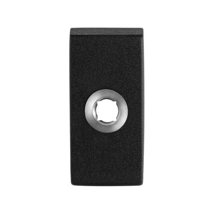 GPF8100.01 zwart RH-rozet 70x32x10mm