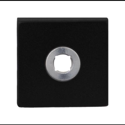 GPF8100.02L rozet 50x50x8mm zwart linksdraaiend