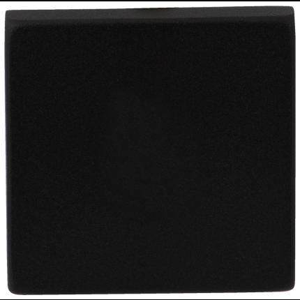 GPF8900.02 blinde rozet 50x50x8mm zwart