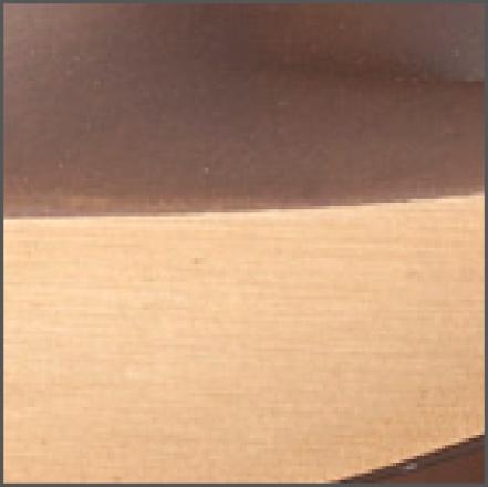 Detail finish mat brons