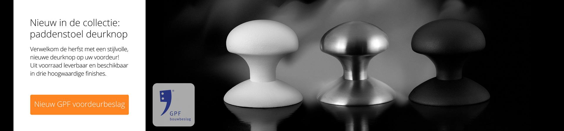 GPF paddenstoel deurknop