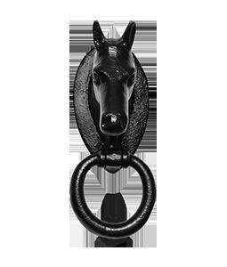 Kirkpatrick smeedijzeren deurklopper paard