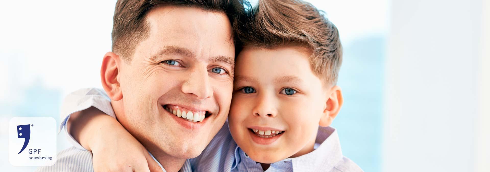Sfeerafbeelding man en jongen