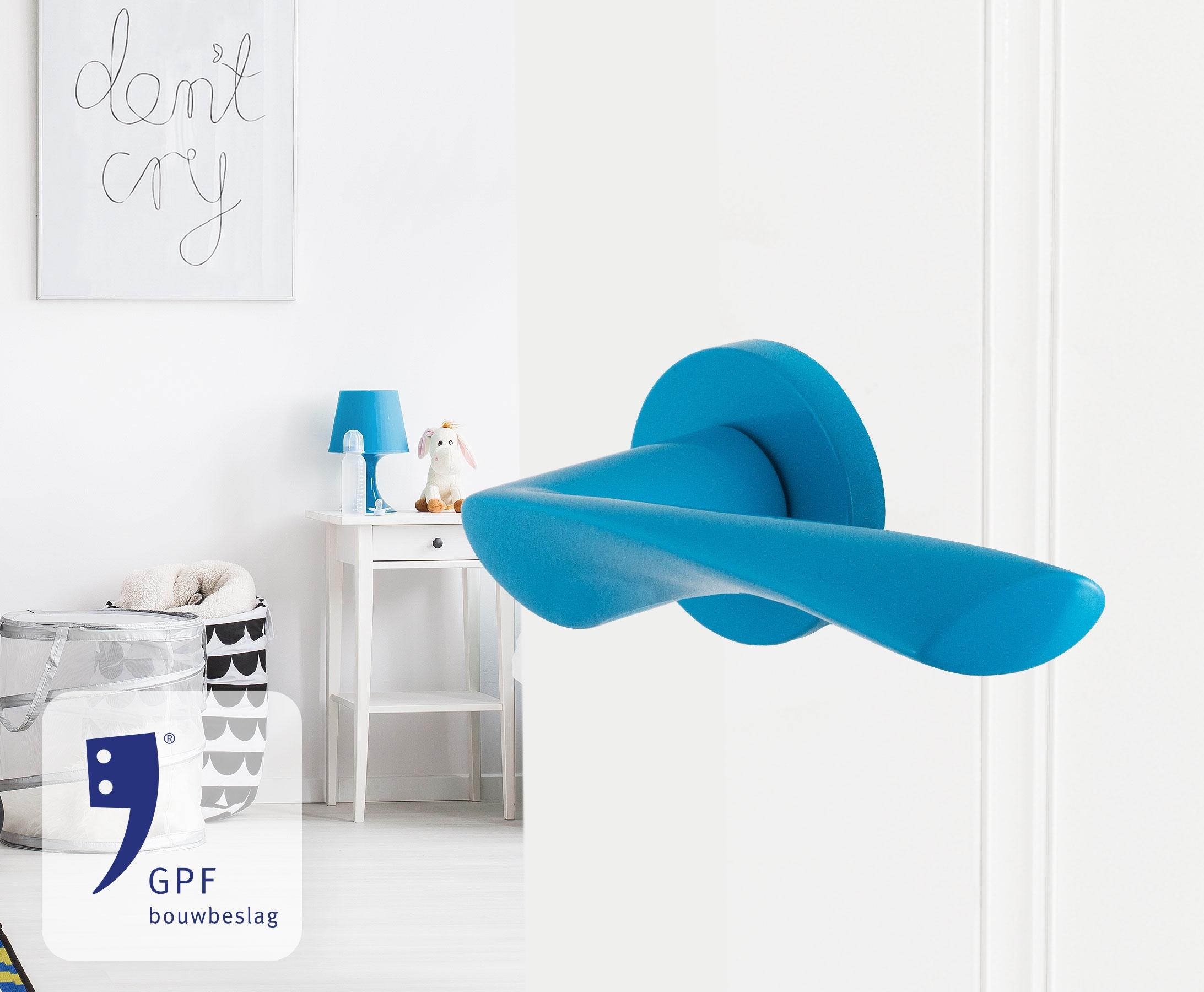 GPF bouwbeslag finish blauw