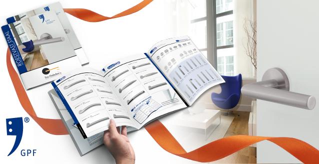 Nieuwe brochure GPF bouwbeslag roestvast staal