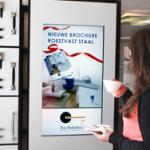 Digital signage showroom