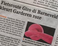 Onze roze deurkrukken in het nieuws!