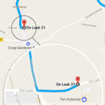 Omleidingsroutes voor personenauto's en vrachtverkeer