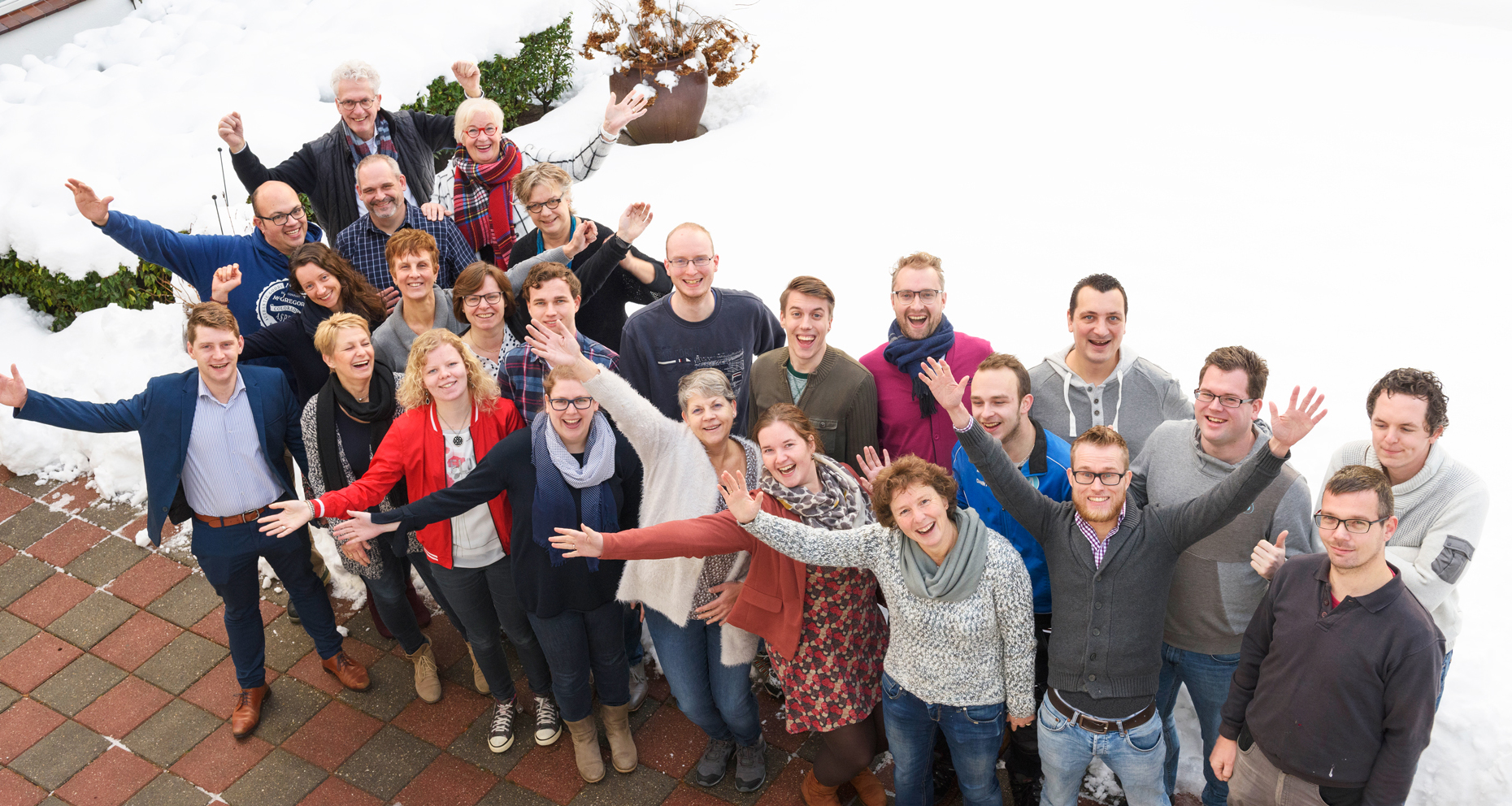 Teamfoto Ten Hulscher