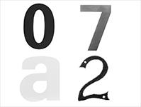 Een nummertje trekken met originele huisnummers