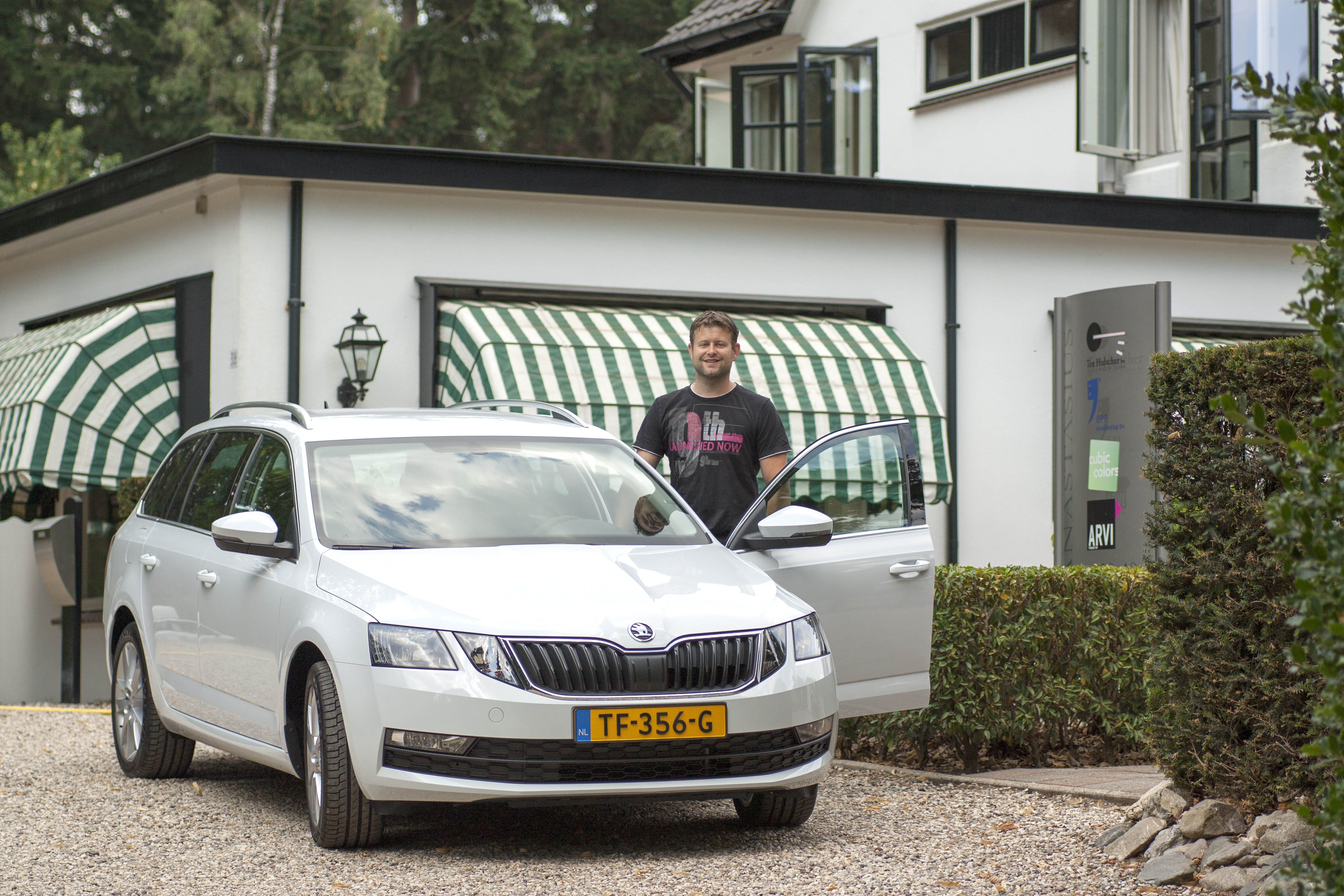 Nieuwe bedrijfsauto Ten Hulscher