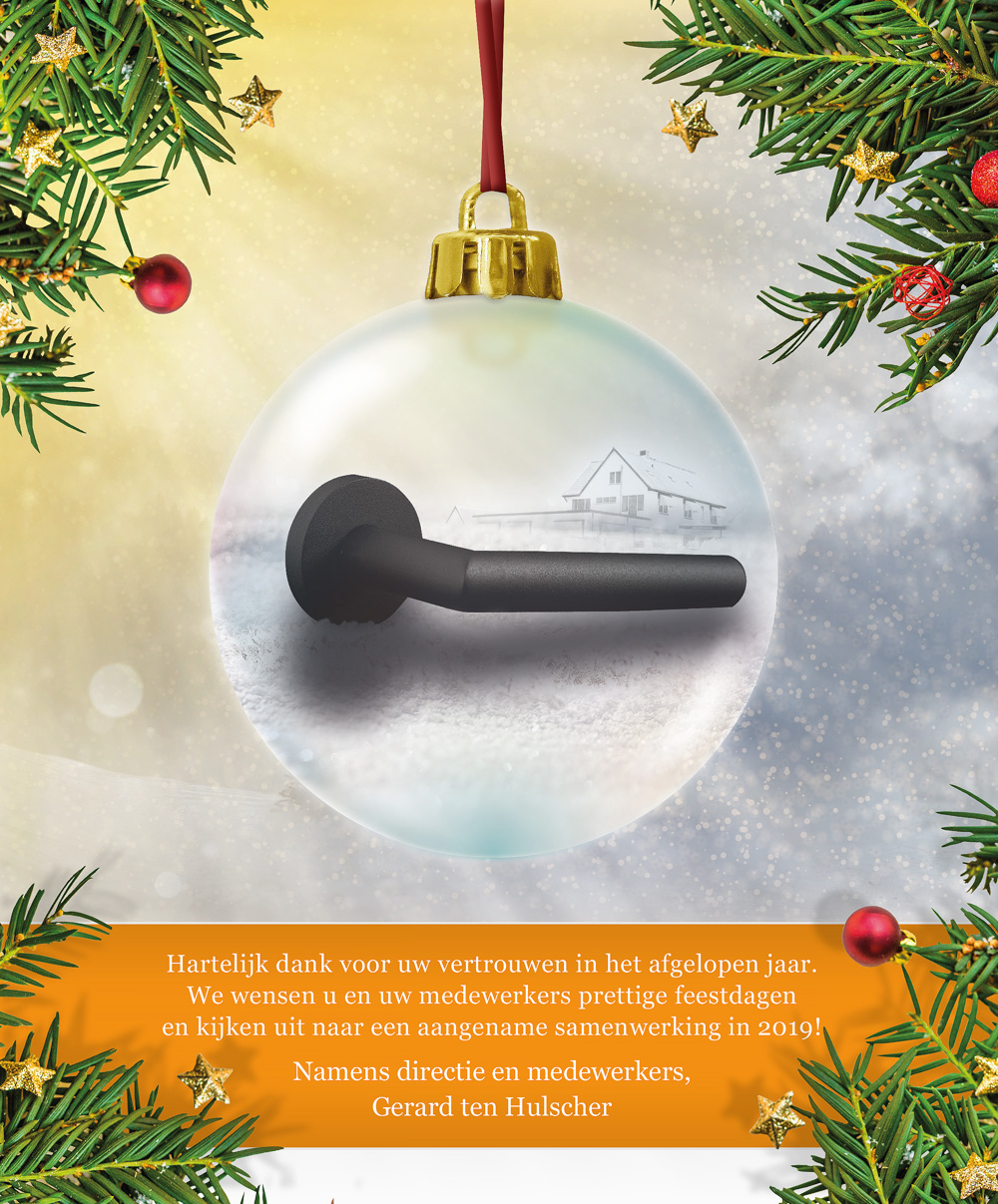 December Kerstgroet 2018 Ten Hulscher