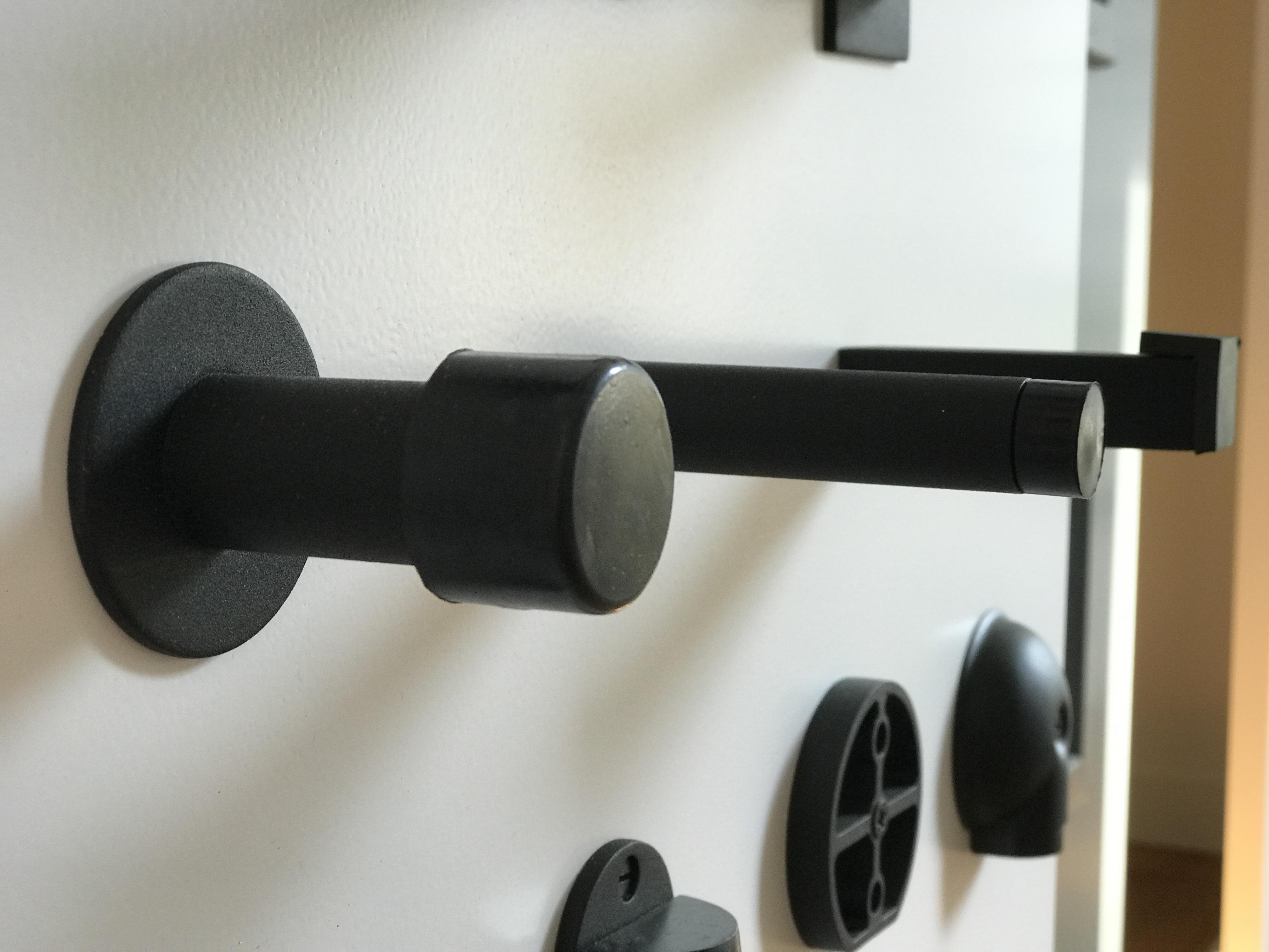 Bescherm muur en deur met deurstoppers