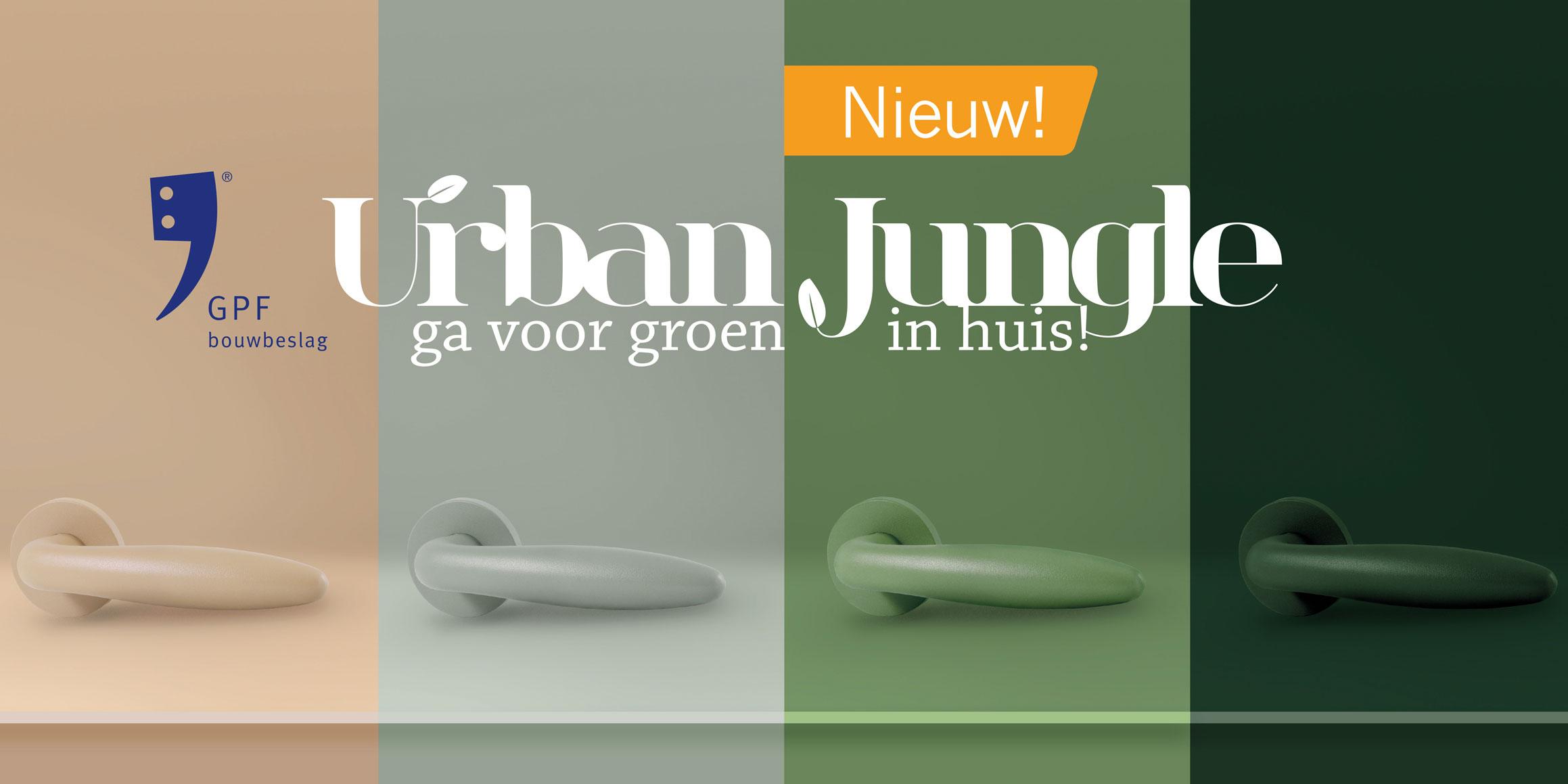 Ten Hulscher presenteert nieuwe collectie GPF Urban Jungle