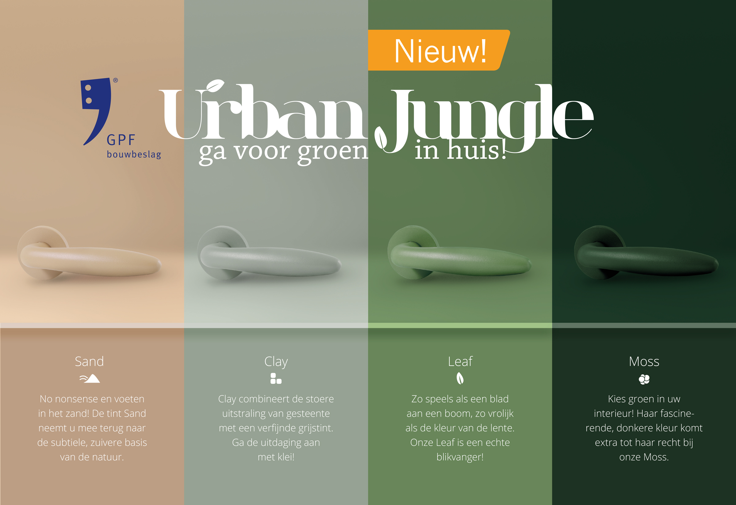 GPF Urban Jungle met tekst