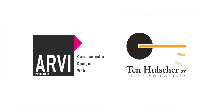 Logo's ARVI product en Ten Hulscher